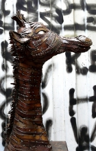 Girafe. 2012. Steel.