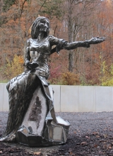 Holy Barbara for Jaehnig GMBH. 2015. Steel.