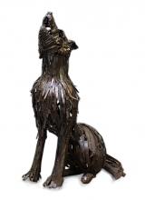 Loup des Steppes. 2010. Steel.