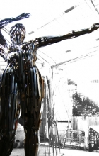Study about hope/striptease. 2011. Steel.